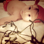 Ezras First Christmas 1