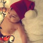 Ezras First Christmas 8